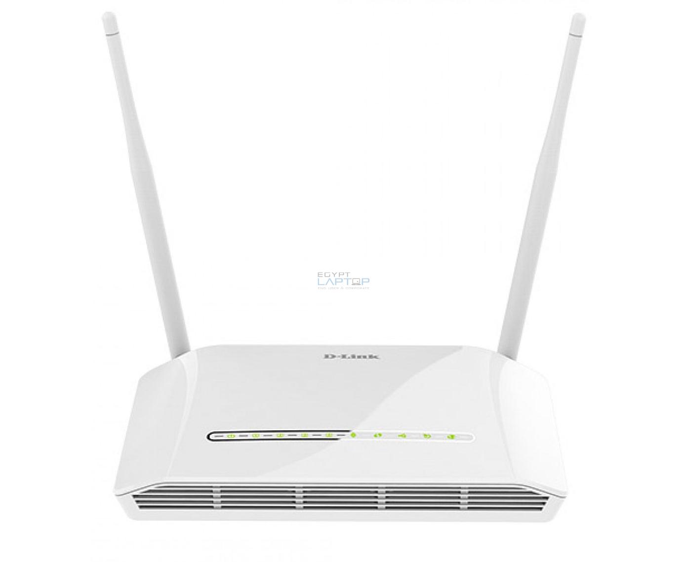Modem Router D-LINK DSL-2790U Wireless N ADSL2//2